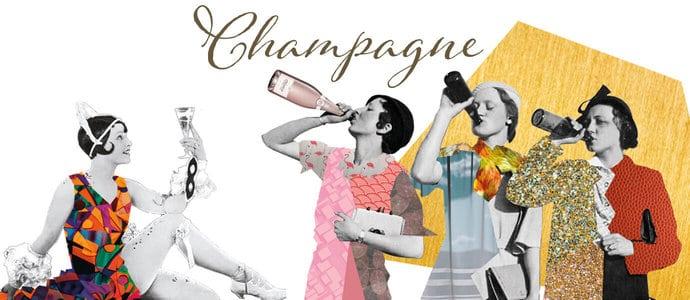 Champagner geht immer