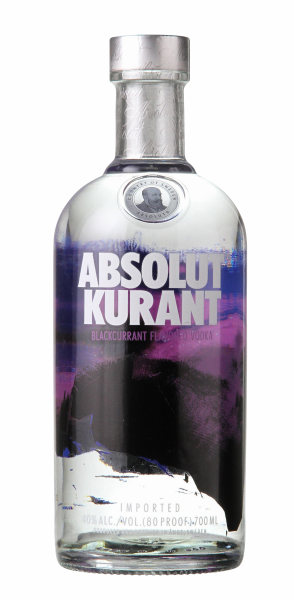 Absolut Kurant Vodka 40% 70cl