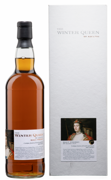 "Adelphi Blended Malt Whisky ""The Winter Queen II"" Fusion 19 J. 54.5% 70cl"