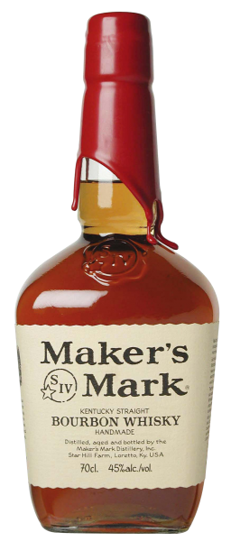 Maker's Mark Straight Bourbon 45% 70cl