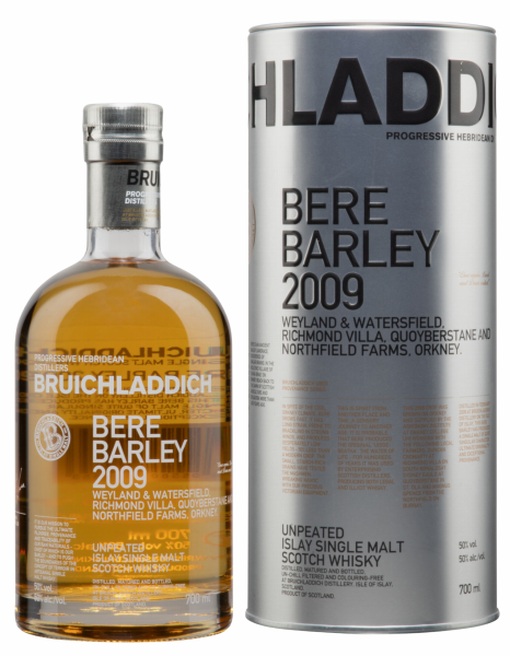 Bruichladdich Single Malt Bere Barley 2009 50% 70cl