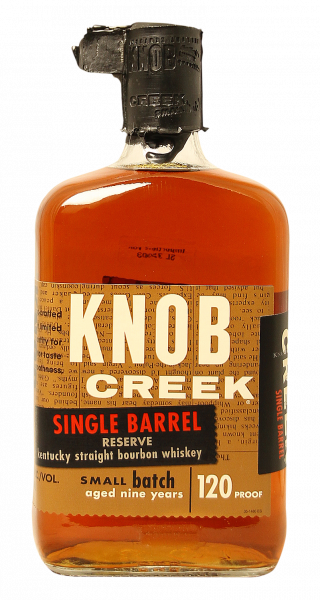 Knob Creek Kentucky Single Barrel Bourbon