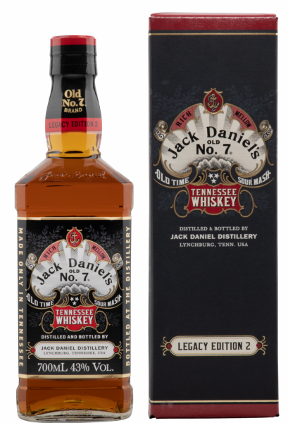 Jack Daniel's No 7 Legacy 2 Edition Tennesssee Whiskey 43% 70cl