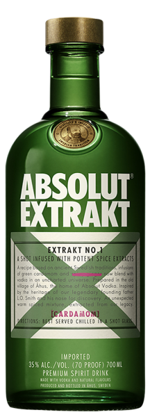 Absolut Extrakt Vodka 35% 70cl