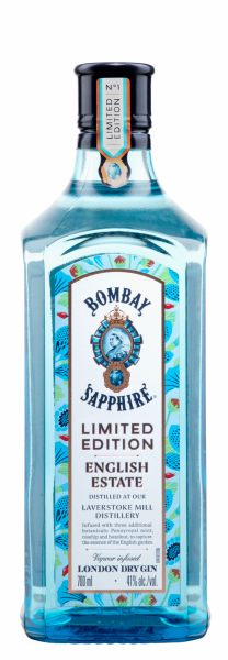 Bombay Sapphire English Estate Limited Edition 41% 70cl