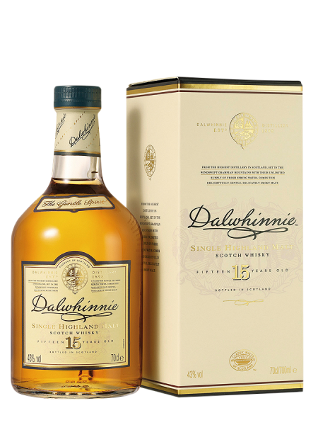 Dalwhinnie Single Malt 15 J. 43% 70cl