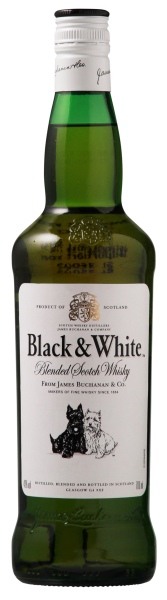 Black & White Blended Scotch Whisky 40% 70cl