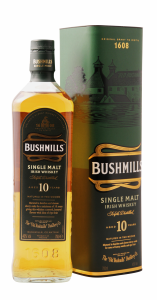 Bushmills Irish Single Malt Whiskey 10 J. 40% 70cl