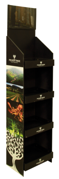 Fever-Tree Display Ständer (schwarz)