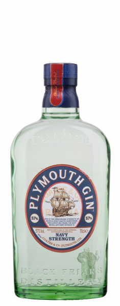 Plymouth Dry Gin Navy Strength 57% 70cl