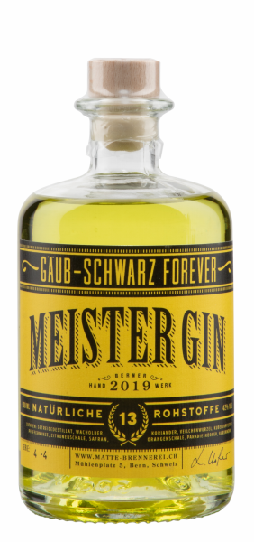 Matte Dry Gin Meister 2020 42% 50cl