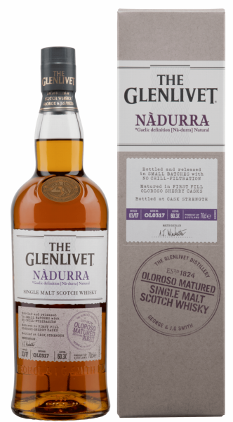 Glenlivet Nàdurra Oloroso Single Malt 60.2% 70cl