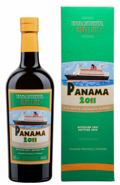 Transcontinental Rum Line Panama 2011 43% 70cl