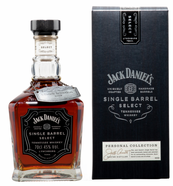 Jack Daniel's Tennessee Whiskey Single Barrel Ullrich Selection 45% 70cl