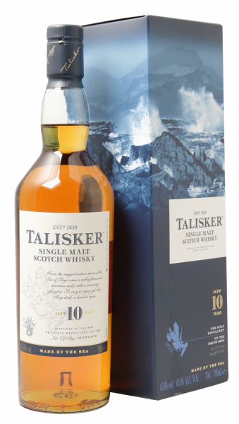 Talisker Single Malt 10 J. 45.8% 70cl