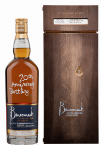 Benromach 20th Anniversary Single Malt 1998 20 J. 56.2% 70cl