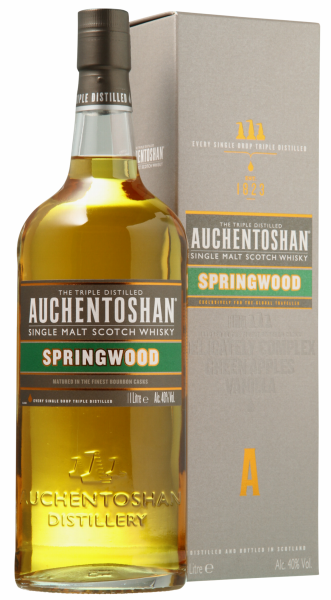Auchentoshan Springwood Single Malt 40% 100cl