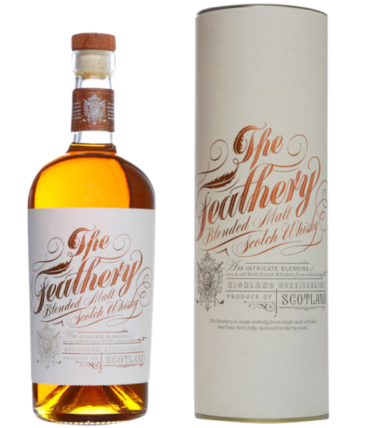 Spencerfield Blended Malt Whisky The Feathery 40% 70cl