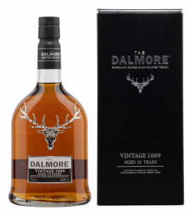 Dalmore Sherry Finish Vintage Single Malt 2009 10 J. 42.5% 70cl