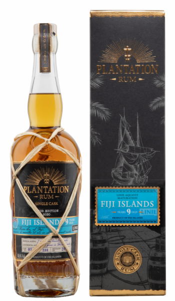Plantation Rum Fiji Single Cask Edition 2020 Around the World 2011 9 J. 48.6% 70cl