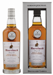 Mortlach Single Malt Gordon & Macphail Distillery Labels 15 J. 46% 70cl