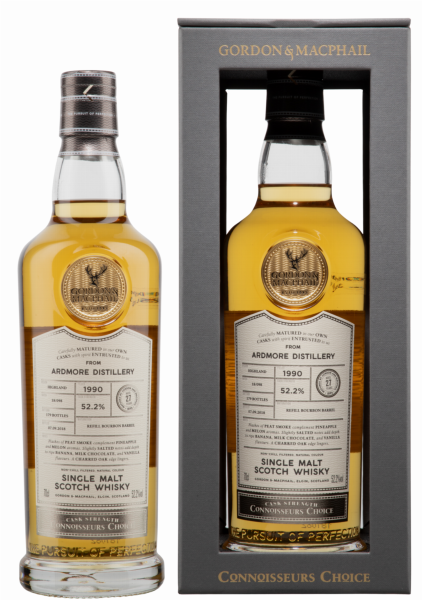 Ardmore Single Malt Gordon & Macphail Connoisseurs Choice 1990 52.2% 70cl