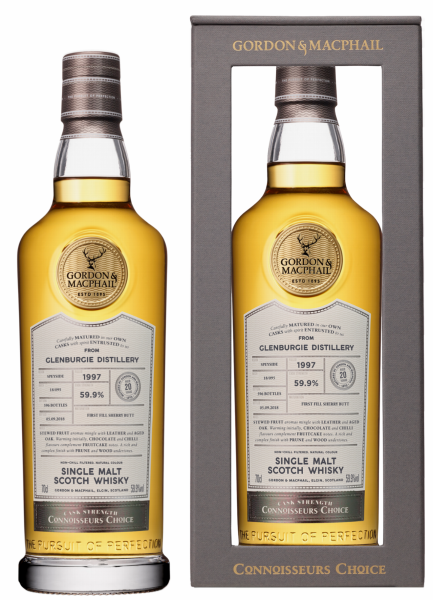 Glenburgie Single Malt Gordon & Macphail Connoisseurs Choice 1997 59.9% 70cl