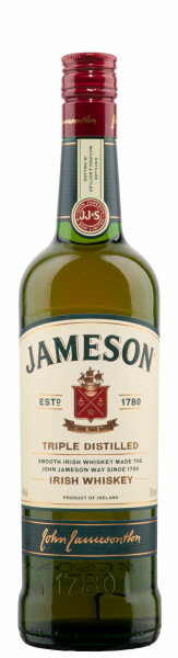 Jameson Irish Whiskey 40% 70cl