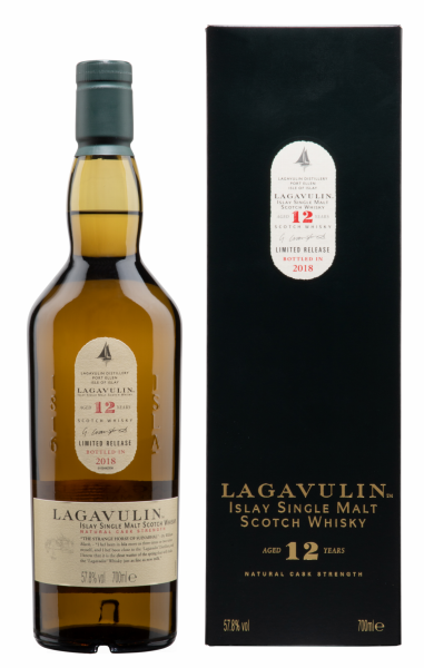 Lagavulin Single Malt Special Release 2018 Cask Strength 12 J. 57.8% 70cl