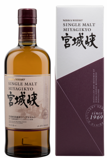 Nikka Miyagikyo Single Malt Whisky 45% 70cl
