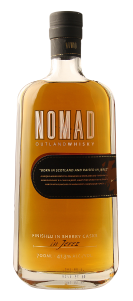 Gonzales Byass Nomad Outland Blended Whisky 41.3% 70cl