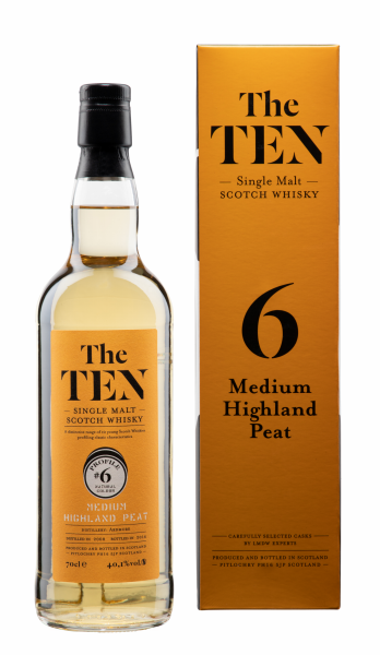 Ardmore The Ten #6 Medium Highlands Single Malts 2008 8 J. 40.1% 70cl