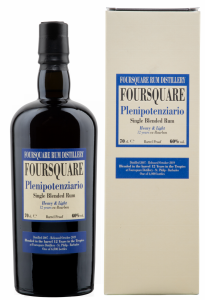 Foursquare Plenipotenziario Single Blended Rum 2007 12 J. 60% 70cl
