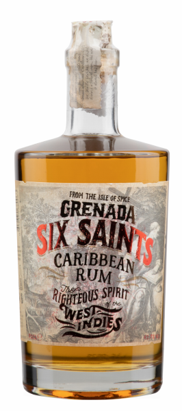 Six Saints Rum Grenada Caribbean 41.7% 70cl