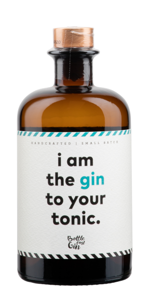 Bottle Post Gin i'm the Gin to your tonic 41% 50cl
