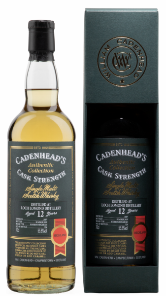 Single Malt Cadenhead's Cask Strength
