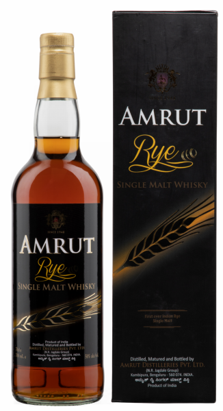 Amrut Single Malt Rye 50% 70cl