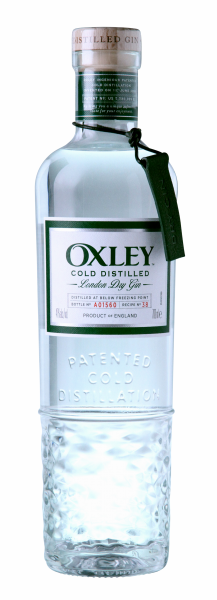 Oxley London Dry Gin - Cold Distilled 47% 70cl