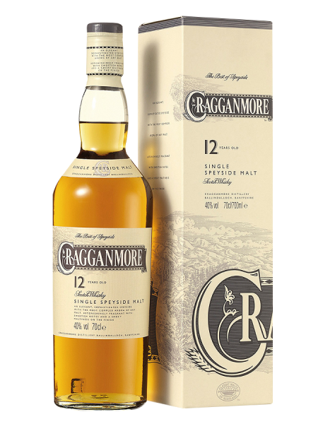 Cragganmore Single Malt 12 J. 40% 70cl
