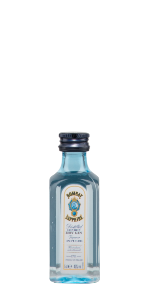 Bombay Sapphire London Dry Gin 40% 5cl