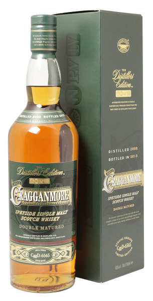 Cragganmore Distillers Edition Single Malt 2007 40% 70cl