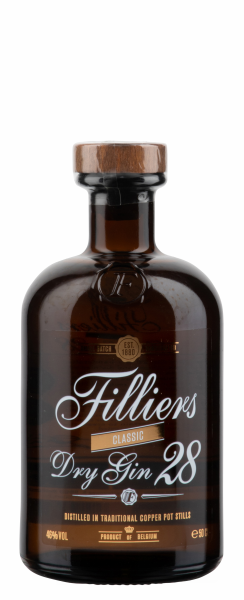 Filliers Dry Gin 28 46% 50cl