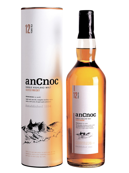 AnCnoc Single Malt 12 J. 40% 70cl