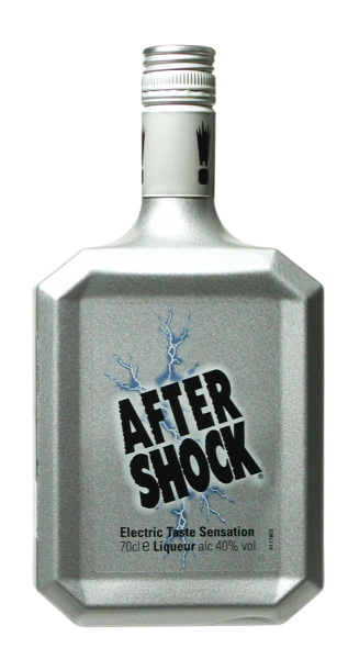 After Shock Silver Apfellikör 40% 70cl
