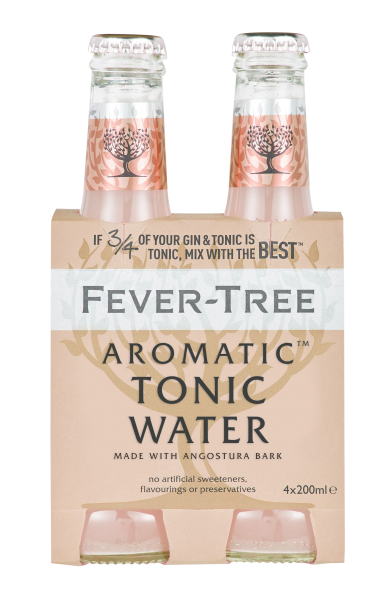 Fever-Tree Aromatic Tonic Water EW Glas 4er-Pack 20cl