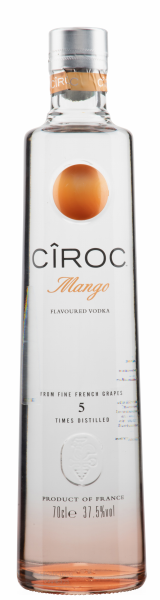 Ciroc Mango Vodka 37.5% 70cl
