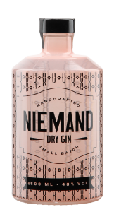 Niemand Dry Gin 46% 50cl