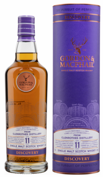 Glenrothes Gordon & Macphail Discovery Single Malt 11 J. 43% 70cl