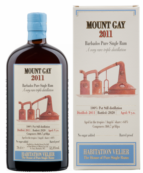 Habitation Velier Mount Gay Barbados Pure Single Rum 2011 9 J. 52.3% 70cl