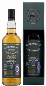 Springbank Single Malt Cadenhead's Single Cask 1994 24 J. 50.8% 70cl